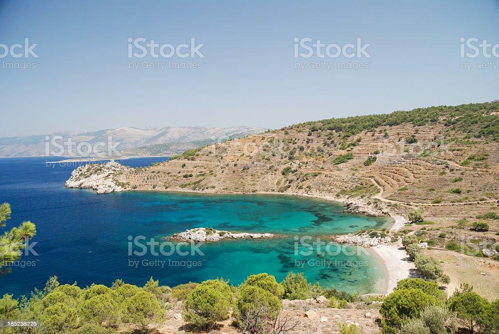 Didima beach, Chios stock photo