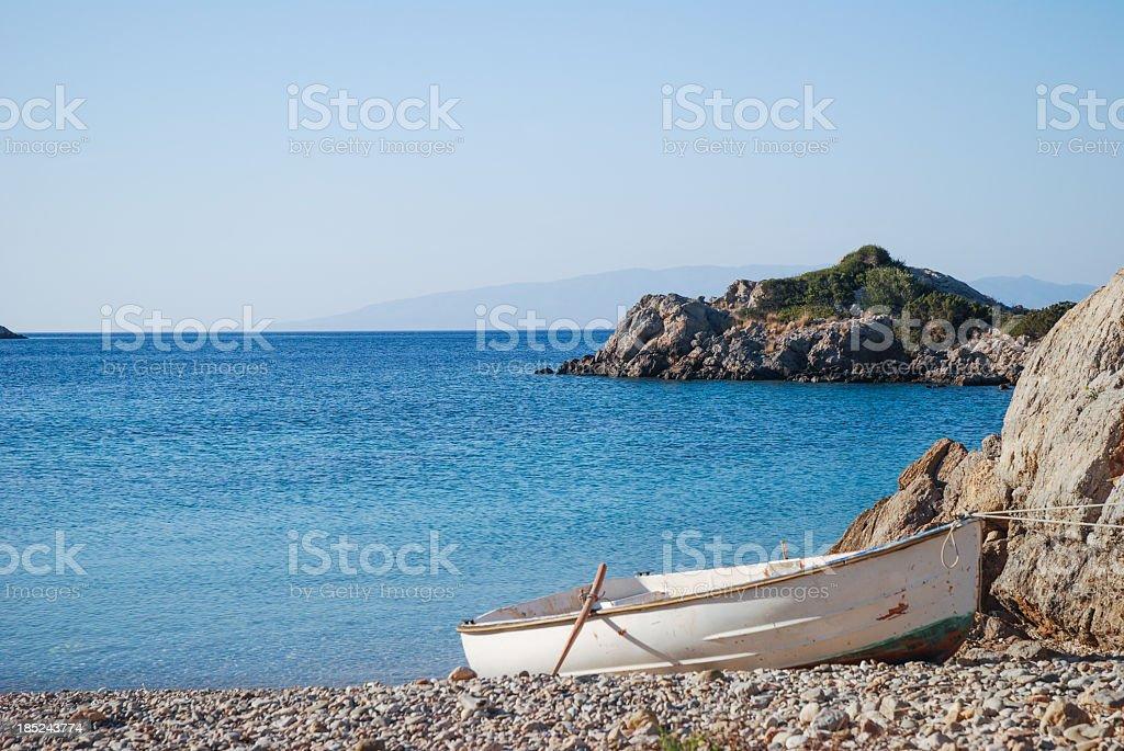 Didima beach, Chios royalty-free stock photo