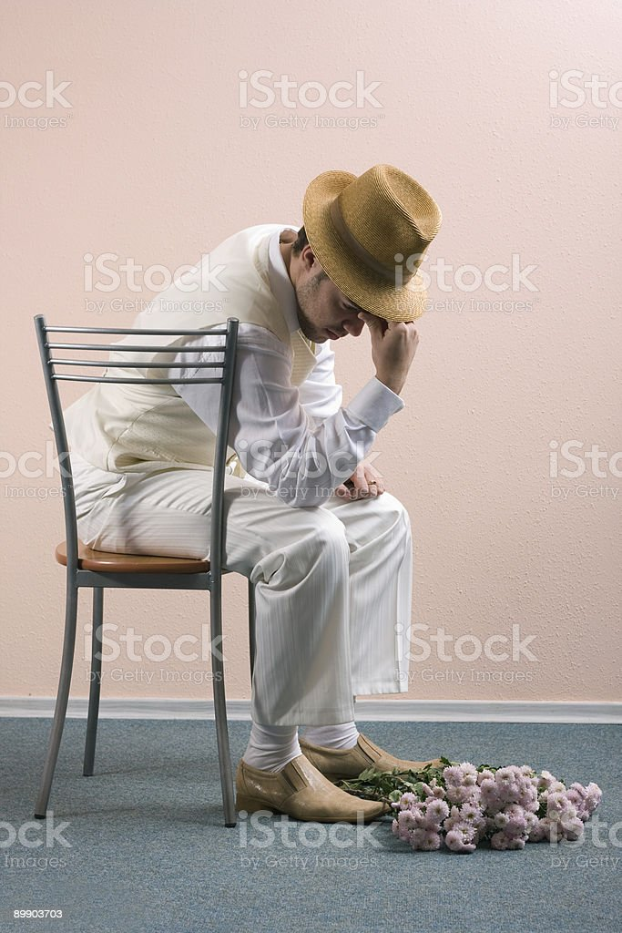 didn't  come royalty-free stock photo