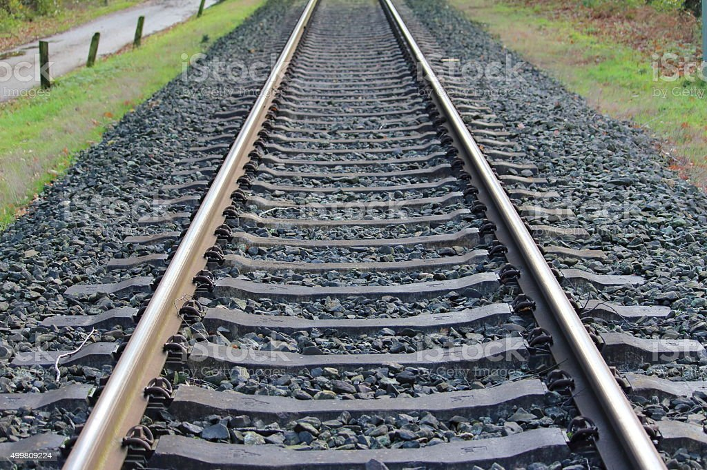Die Bahn stock photo