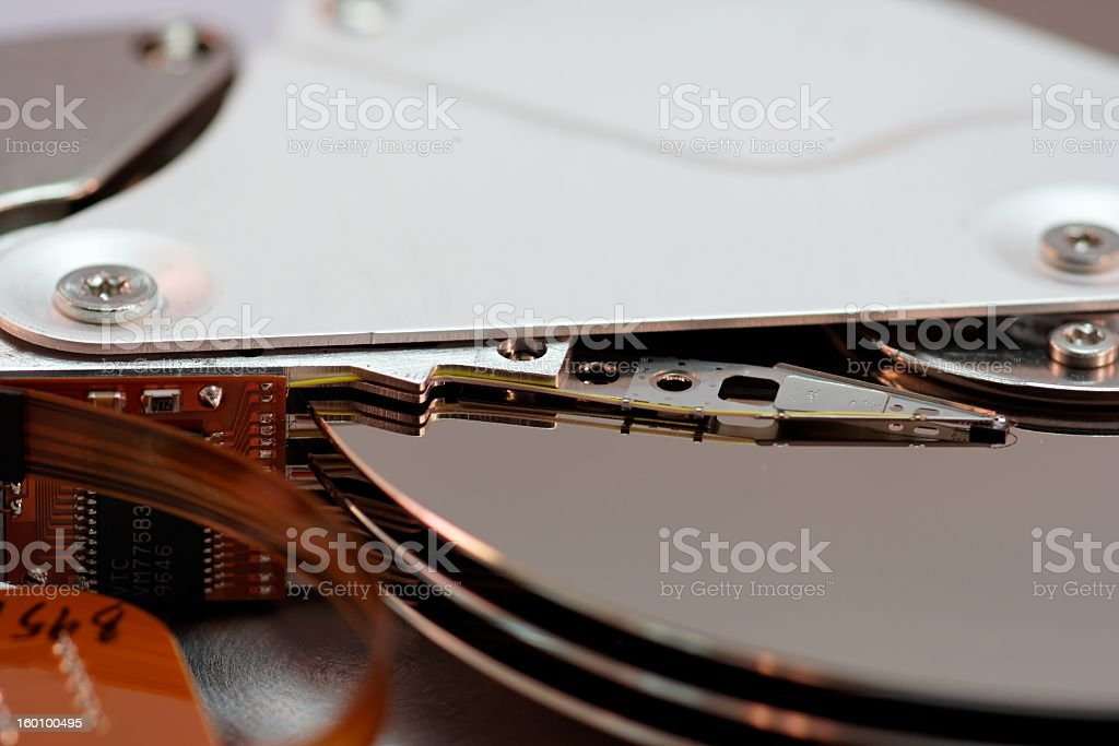 Die Festplatte- royalty-free stock photo