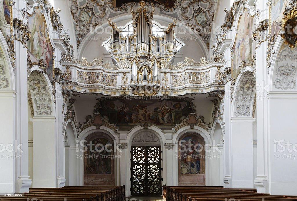 Die Kirchen der Pfarrei Steingaden, Germany stock photo