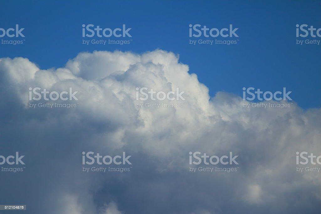 die Wolken stock photo