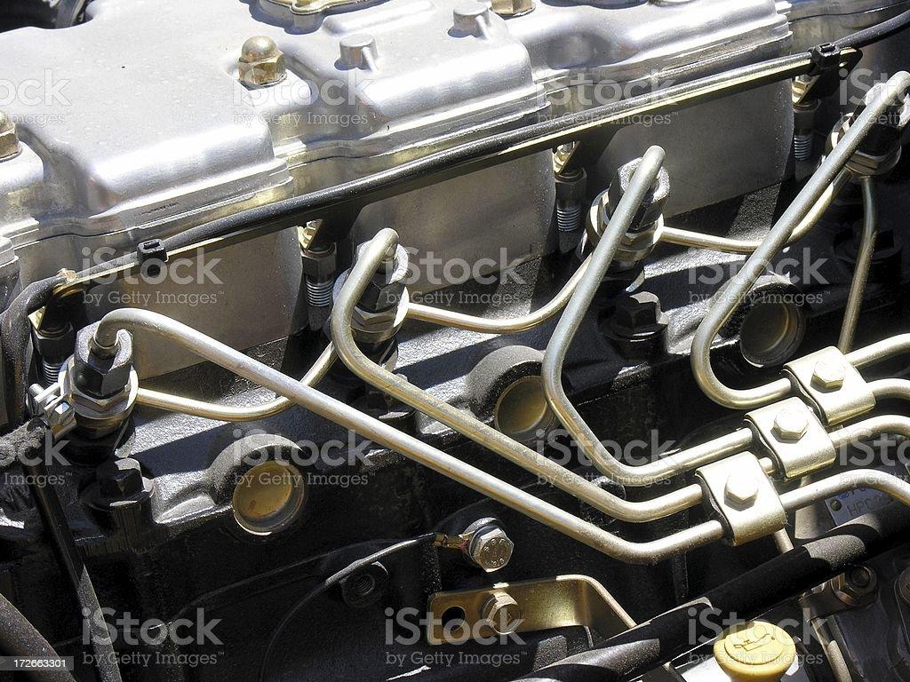 Diesel Engine 3 royalty-free stock photo