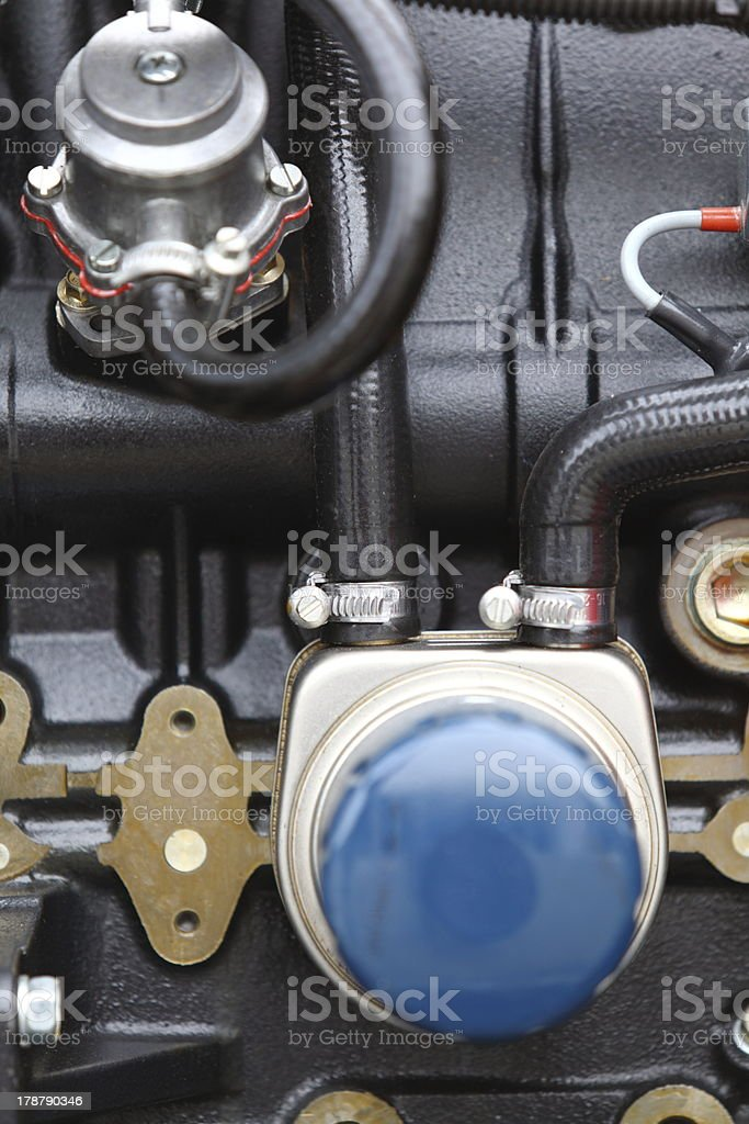 diesel engine detail royalty-free stock photo