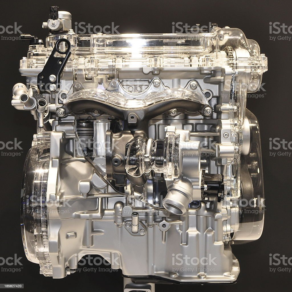 diesel engine royalty-free stock photo