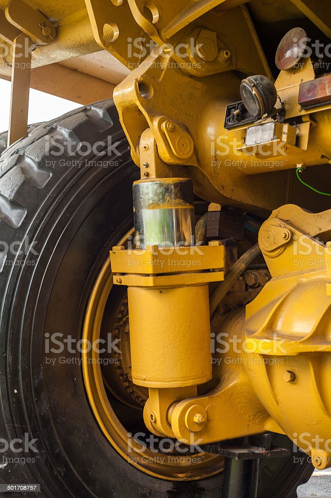 diesel engine stock photo