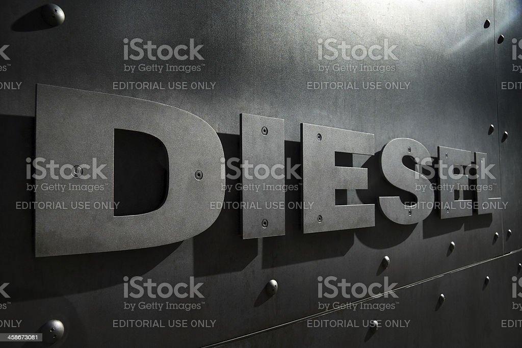 Diesel Fashion Logo sign royalty-free stock photo