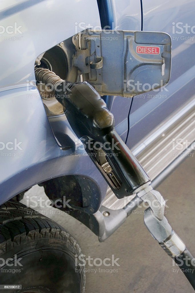 Diesel filling royalty-free stock photo
