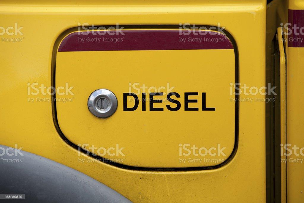 Diesel Fuel Cap royalty-free stock photo