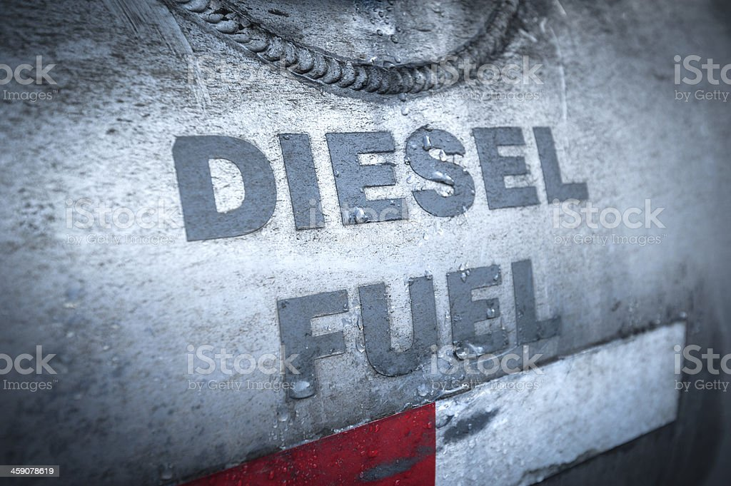 diesel fuel stock photo