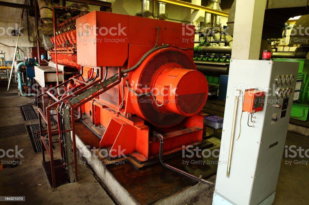Diesel Generator XXXL stock photo