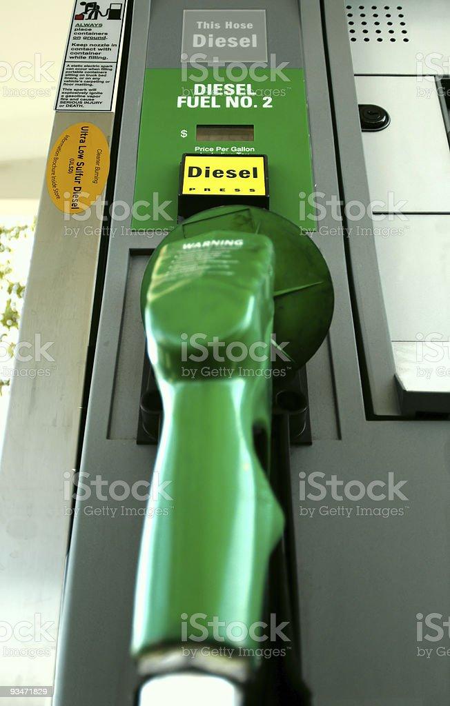 Diesel Hose royalty-free stock photo