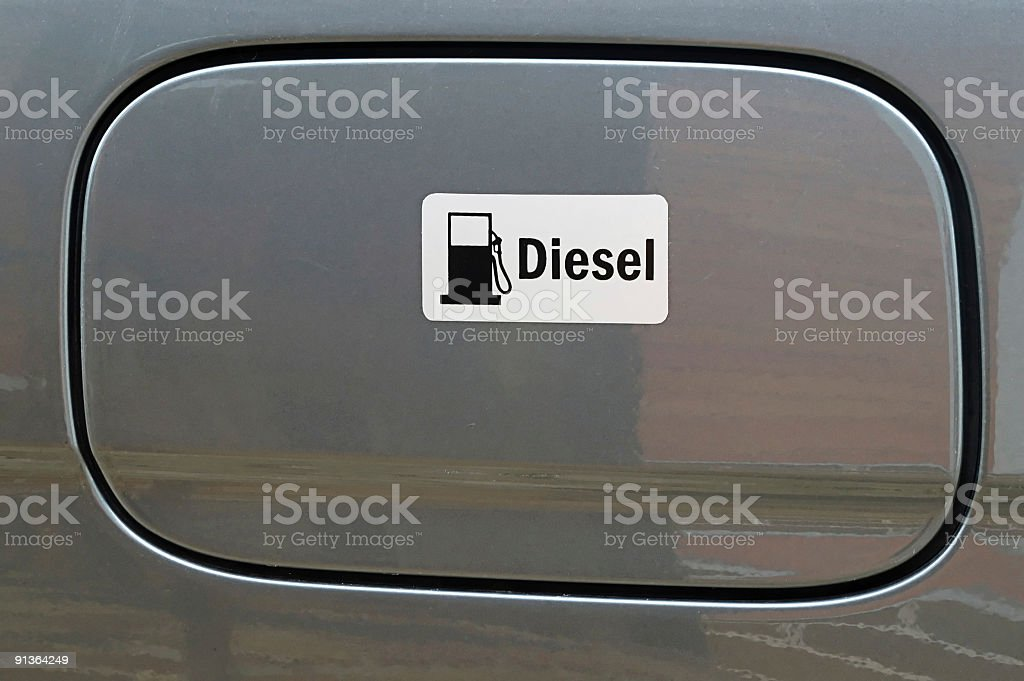Diesel only royalty-free stock photo