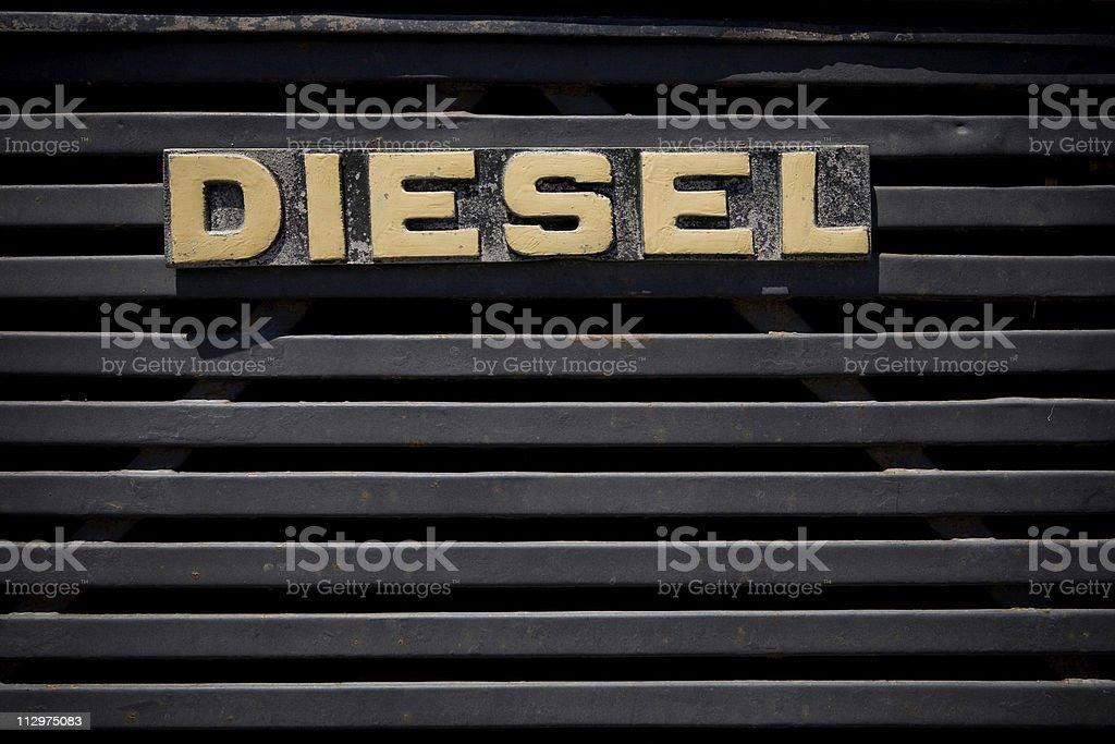 Diesel royalty-free stock photo