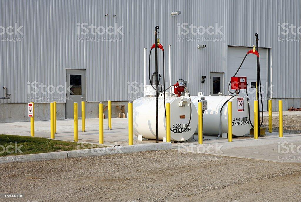 Diesel Tanks royalty-free stock photo