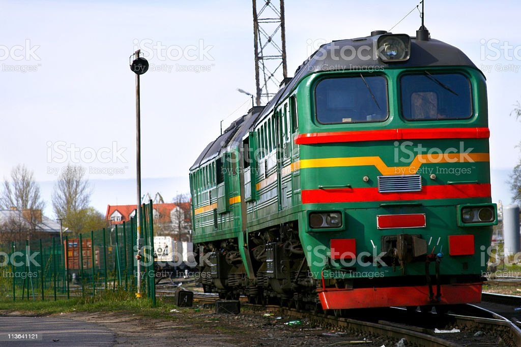 Diesel Train royalty-free stock photo