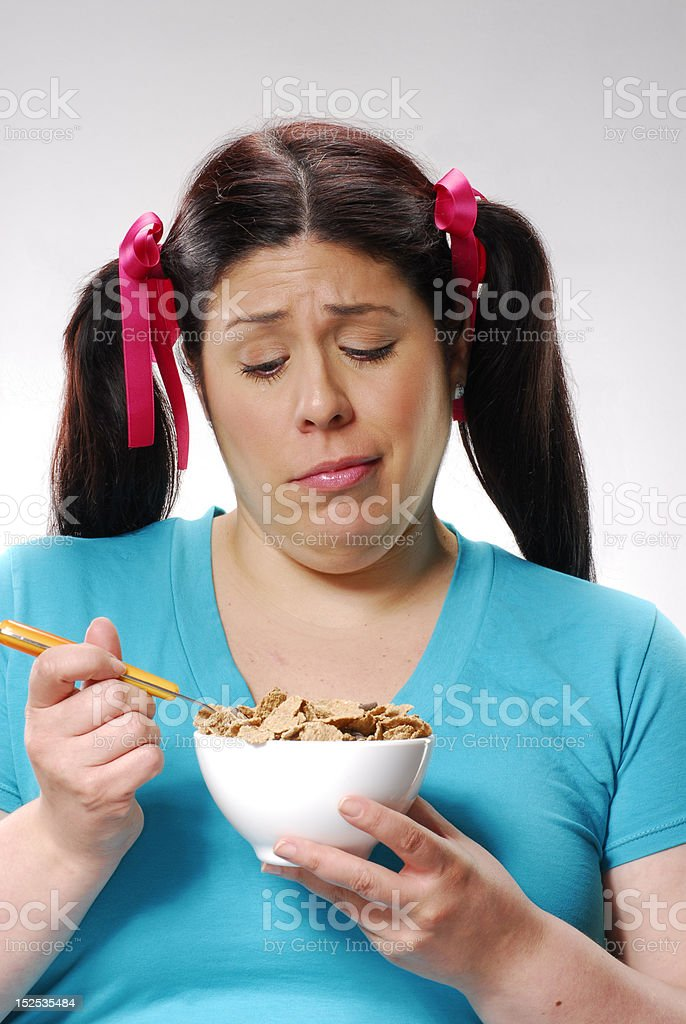 Diet again. royalty-free stock photo
