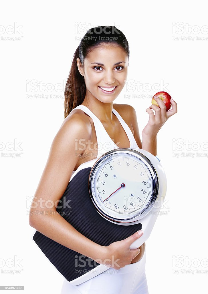 Diet and fitness royalty-free stock photo