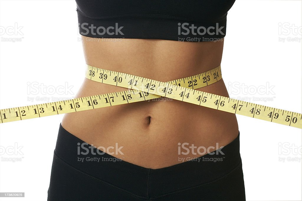 diet and weight loss concept stock photo