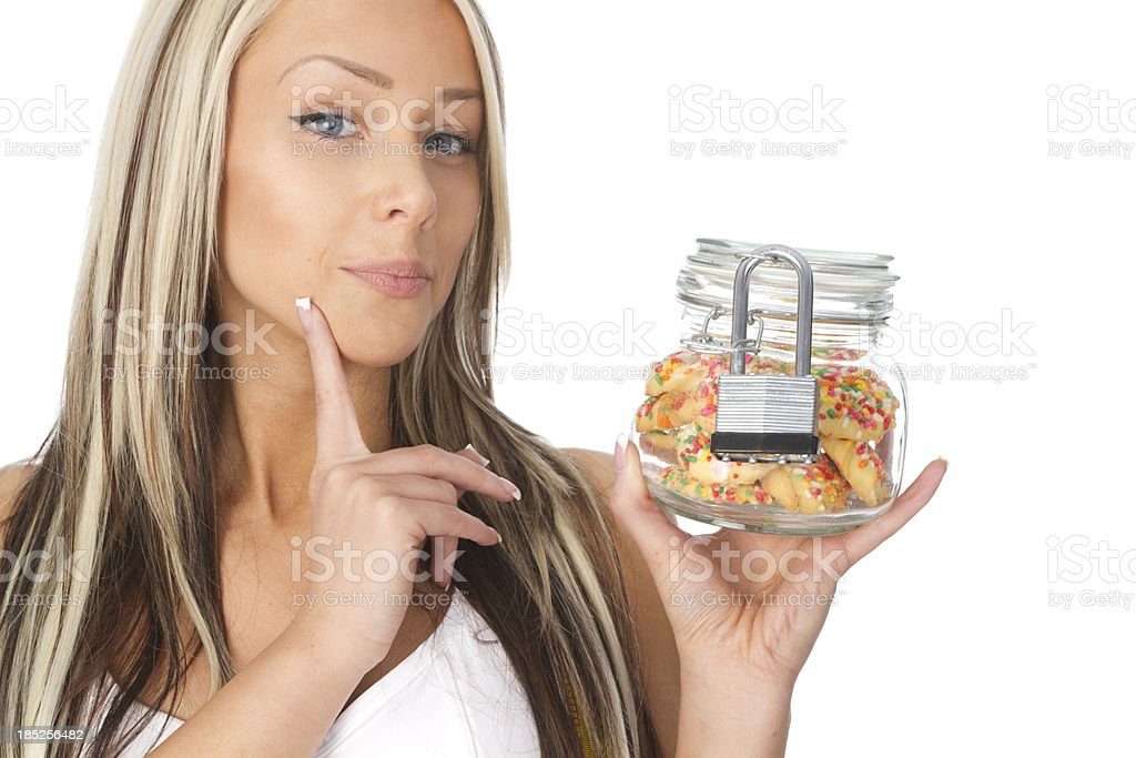 diet and will power concept royalty-free stock photo