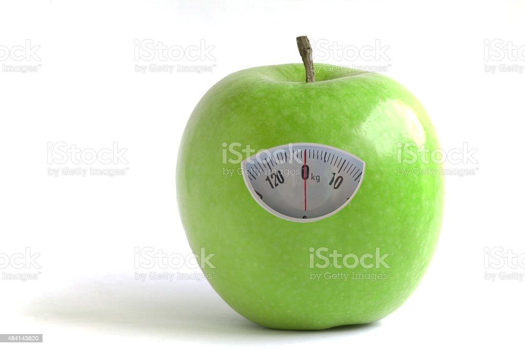 Diet Apple royalty-free stock photo