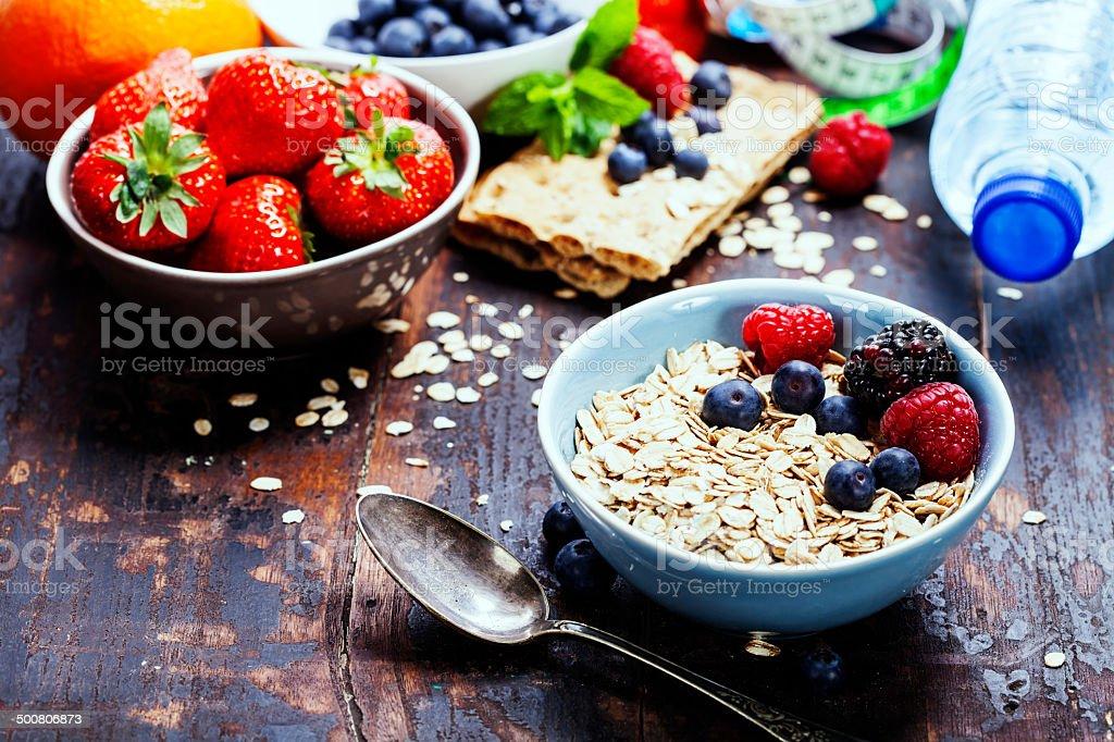 diet breakfast stock photo