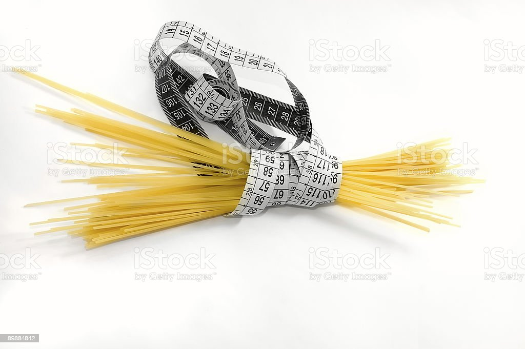 Alimentation par Spaghetti photo libre de droits