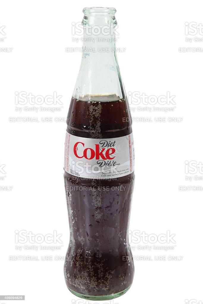 Diet Coke a Coca-Cola product stock photo