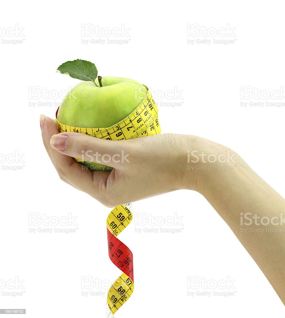 Diet concept royalty-free stock photo