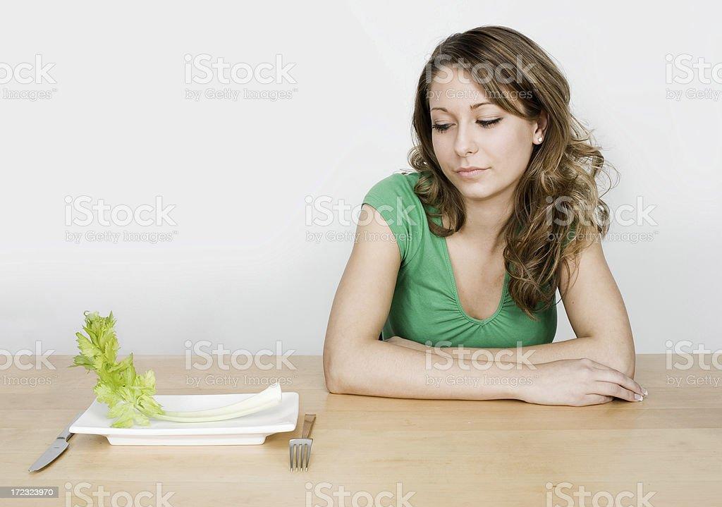 Diet Dislike royalty-free stock photo