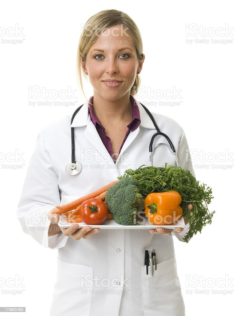 Diet equals health royalty-free stock photo