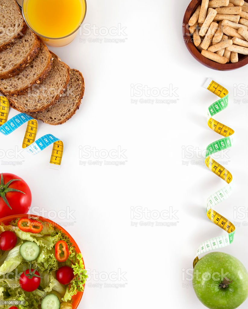 Diet Food and Healthy Eating stock photo