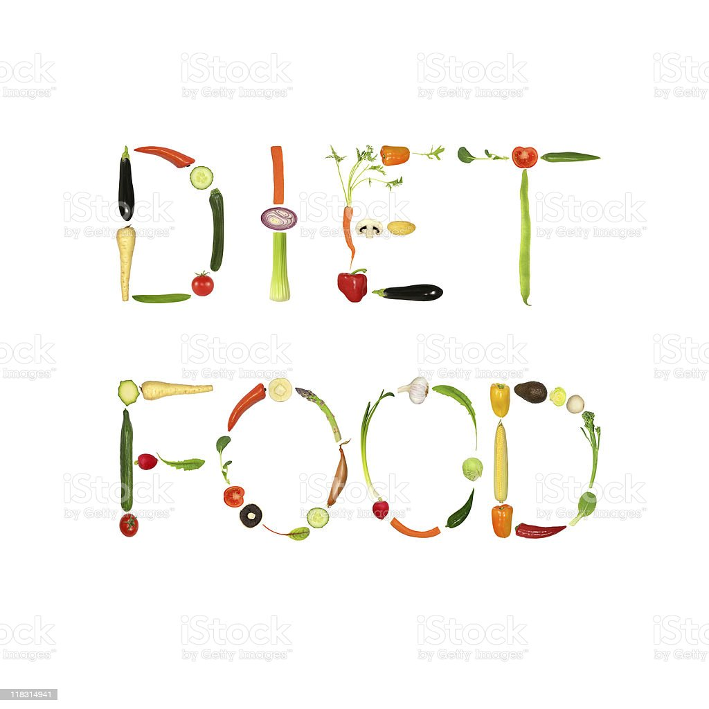 Diet Food royalty-free stock photo