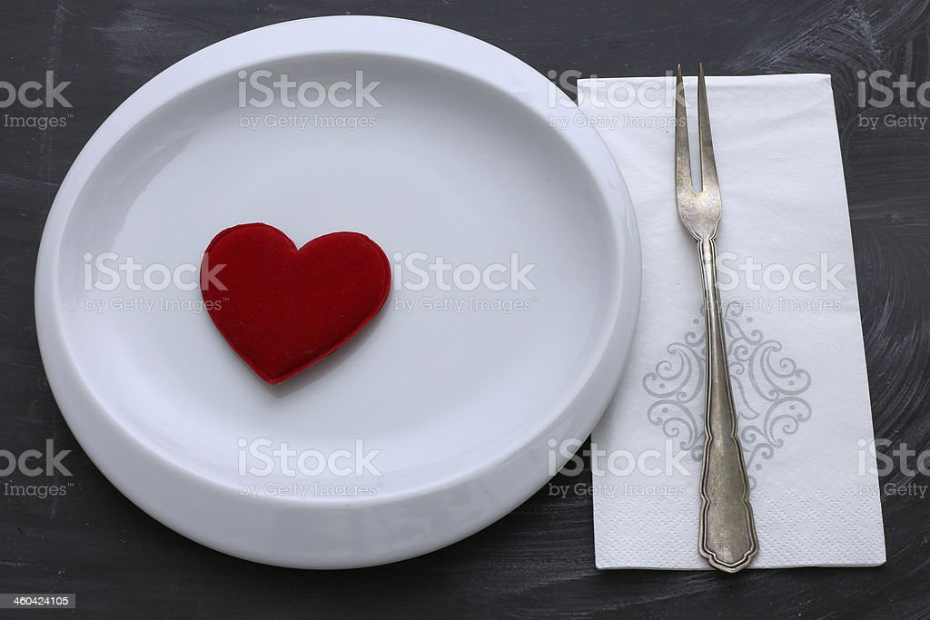diet for the heart royalty-free stock photo