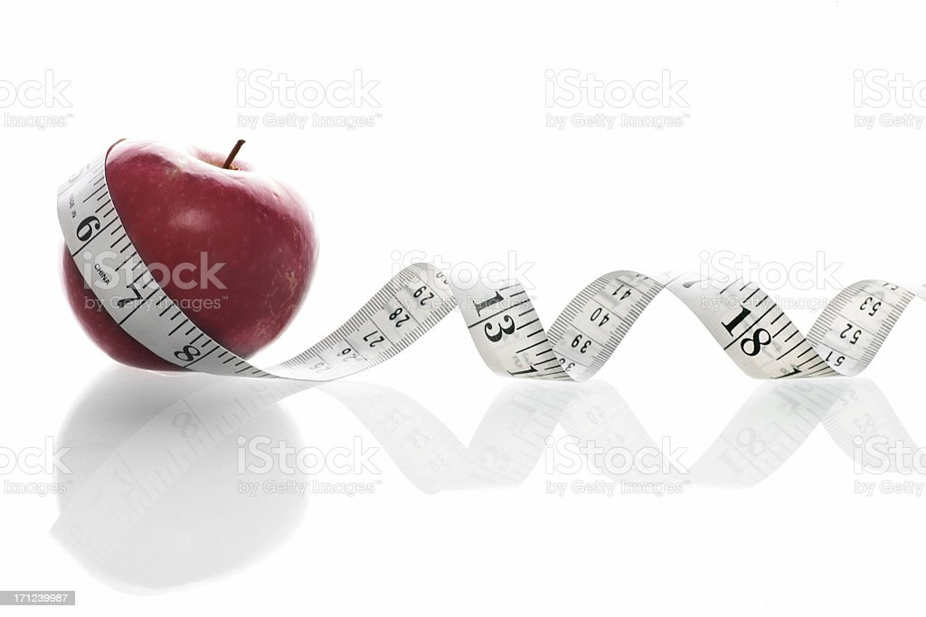 Diet management royalty-free stock photo