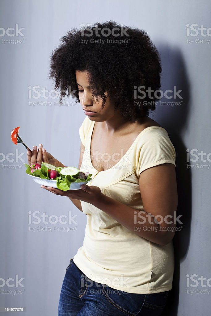 Diet, not again royalty-free stock photo