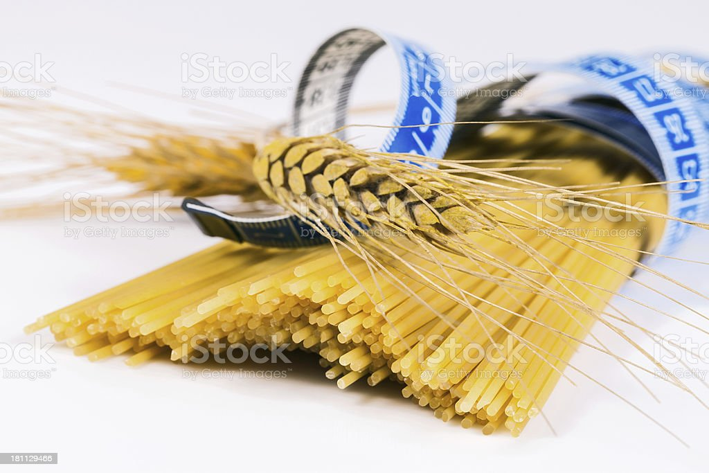 Diet Pasta royalty-free stock photo