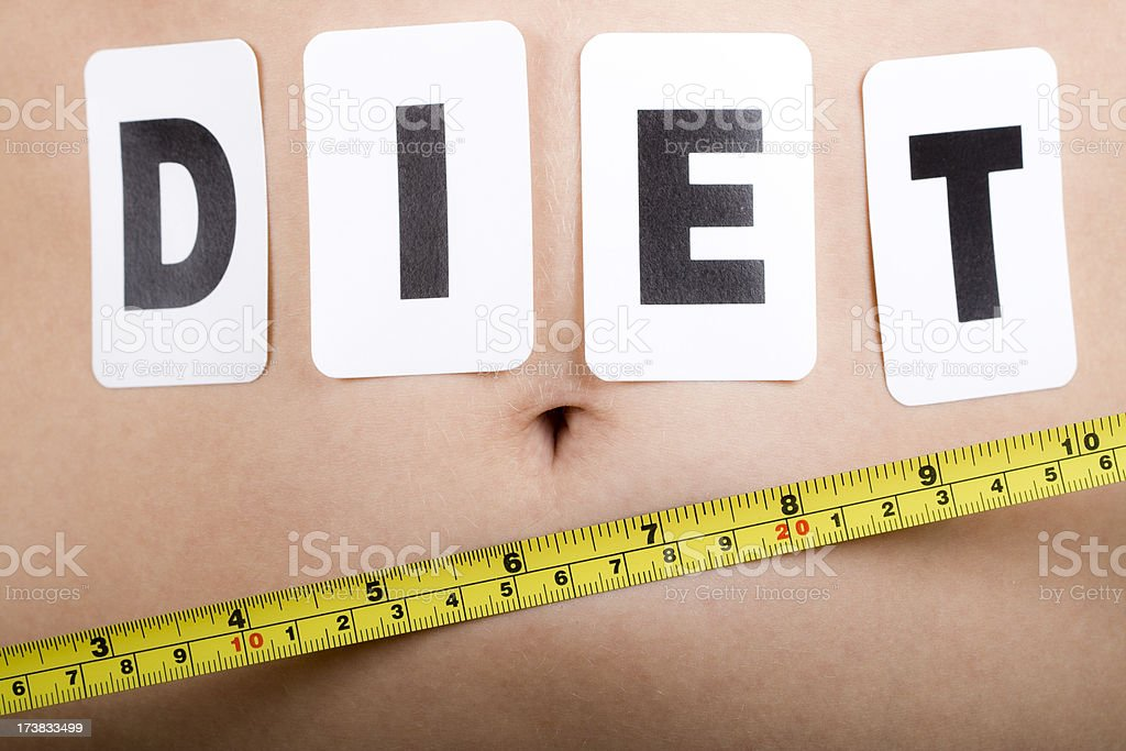 Diet!! royalty-free stock photo