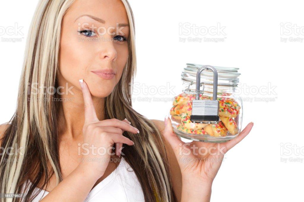 diet temptation royalty-free stock photo