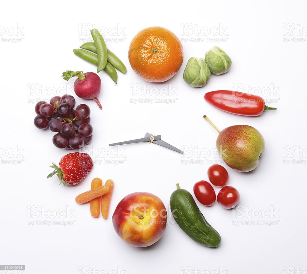Diet Time royalty-free stock photo