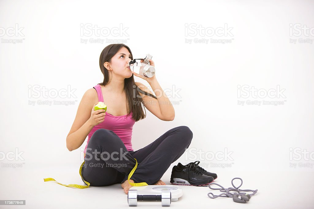 Diet Water royalty-free stock photo
