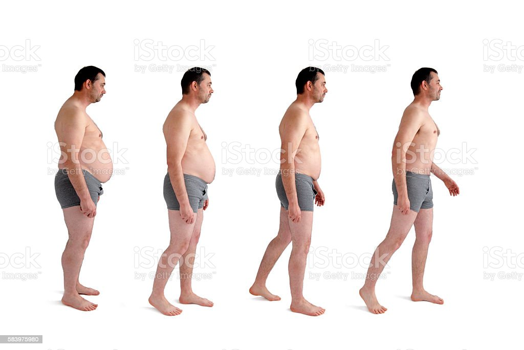diet weight loss transformation concept stock photo