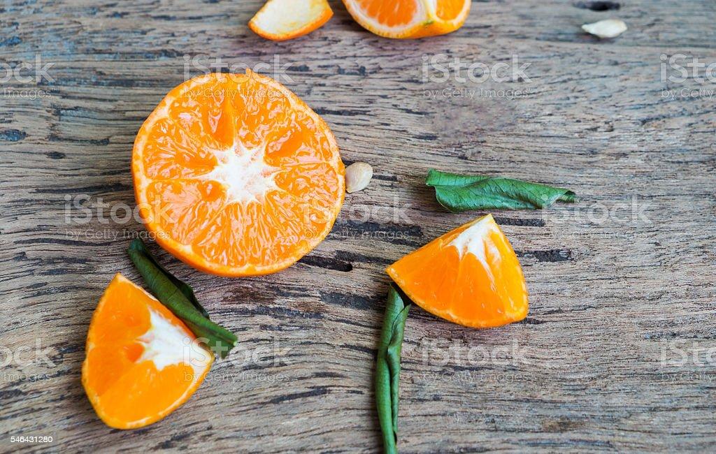 Dietary fiber, Mandarin orange Lizenzfreies stock-foto