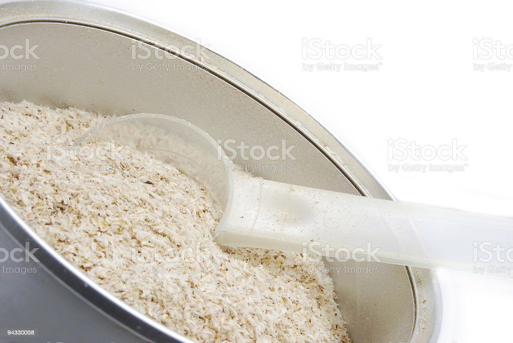 Dietary Fiber - Psyllium royalty-free stock photo