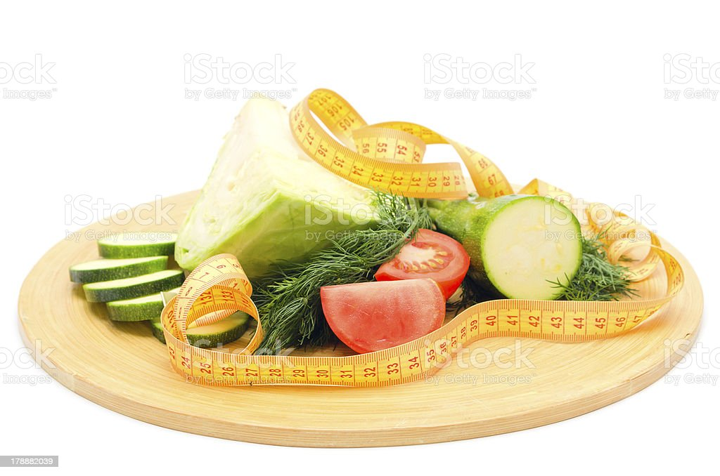 Dietary mixed vegetables royalty-free stock photo