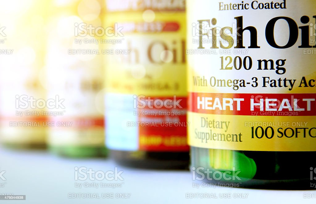 dietary supplements stock photo