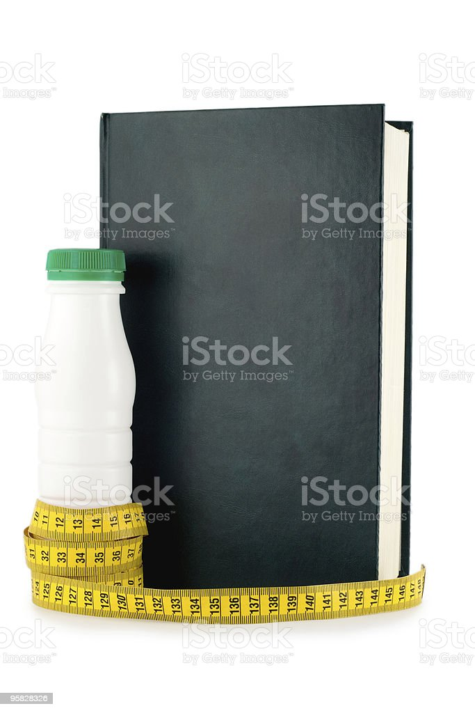 dieting book royalty-free stock photo