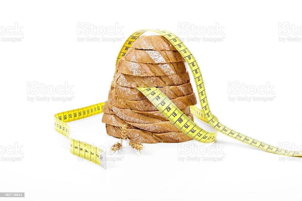 Dieting Bread Series royalty-free stock photo