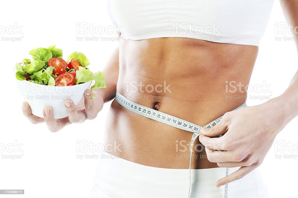 Dieting concepts. royalty-free stock photo